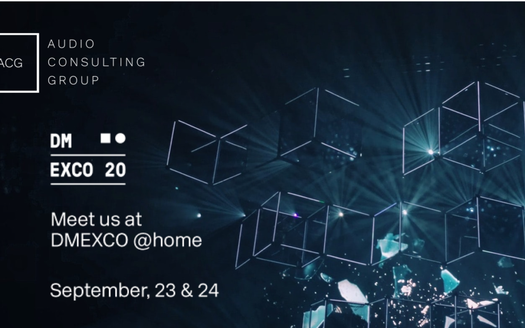 DMEXCO & ACG Functional Sound Experience